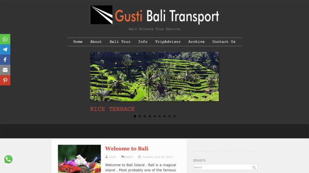Gusti Bali Transport